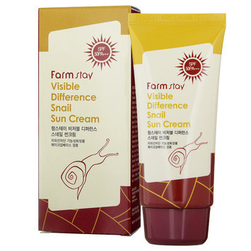 Farm Stay - Visible Difference Snail Sun Cream SPF 50 PA+++ 70g