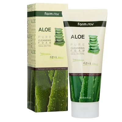 Farm Stay - Aloe Pure Cleansing Foam 180ml