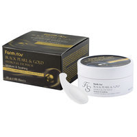 Farm Stay - Black Pearl and Gold Hydrogel Eye Patch (Moisture and Soothing) 60 sheets