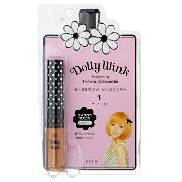Koji Dolly Wink Eyebrow Mascara 01 Milk Tea