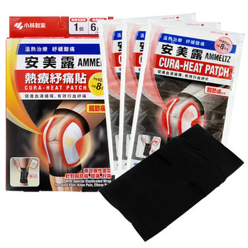 Kobayashi - Ammeltz Cura-Heat Patch (For Joint Pain) 6 patches