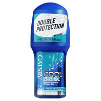 Mandom - Gatsby Cool Shock Deodorant Roll-On (Fresh Marine) 50ml
