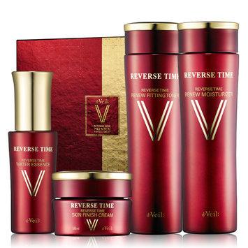 LadyKin - d'Veil Reverse Time Skin Care Set: Toner 150ml + Moisturizer 150ml + Essence 50ml + Cream 50ml 4 pcs