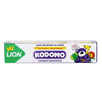 LION - Kodomo Children Toothpaste (Grape Flavor) 40g
