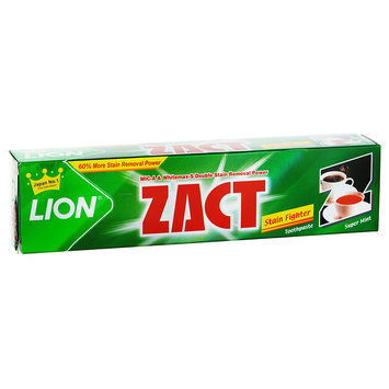 LION - ZACT Stain Fighter Toothpaste (Super Mint) 150g