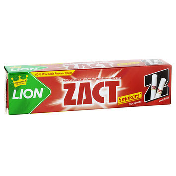 LION - ZACT Smokers' Toothpaste (Cool Mint) 150g