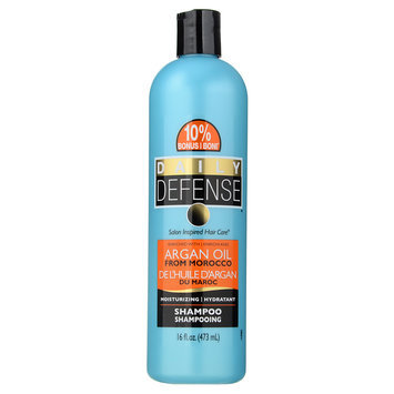 DAILY DEFENSE - Color Safe Moisturizing Shampoo (Shea Butter and Almond Oil) 473ml/16oz