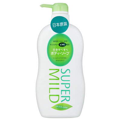 Shiseido Super Mild Body Wash