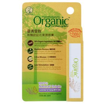 Mentholatum - Organic Certified Lip Balm (Lavender and Orange) 3.5g