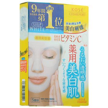 Kose - Clear Turn White Vitamin C Mask 5 pcs