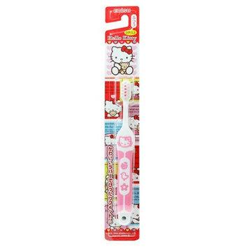 Ebisu - Hello Kitty Rubber Handle Toothbrush (Random Color) 1 pc