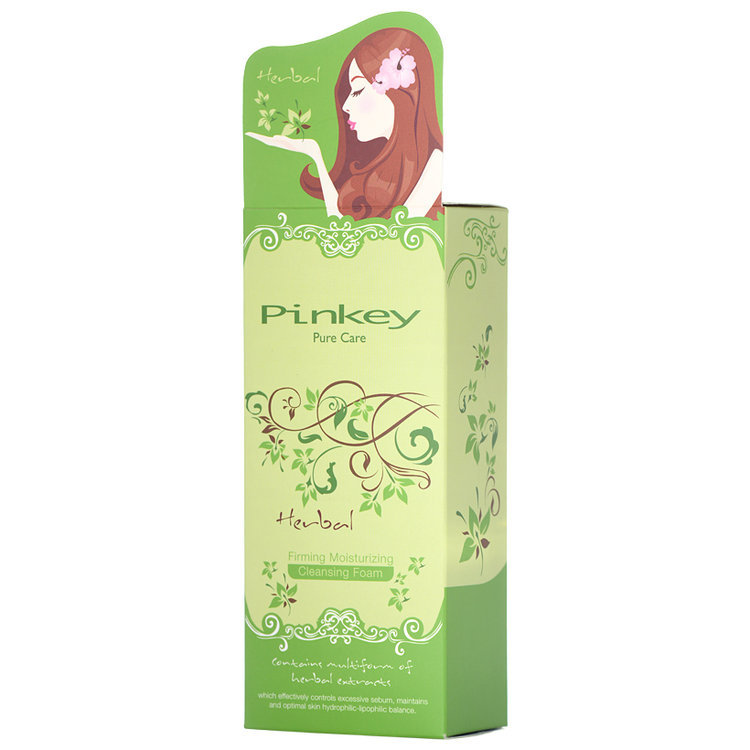 Pinkey - Herbal Firming Moisturizing Cleansing Foam 150g