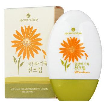 Secret Nature - Sun Cream with Calendula Flower Extracts SPF 50+ PA+++ 45g