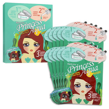 Farm Stay - Princess Aqua Mask 10 set