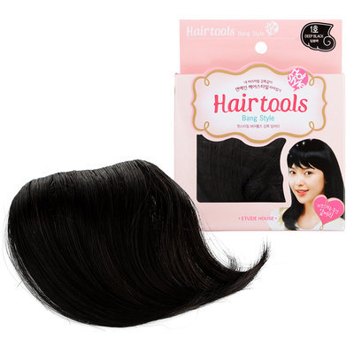 Etude House - Hot Style Hair Tools Natural Bangs (#01 Deep Black) 1 pc