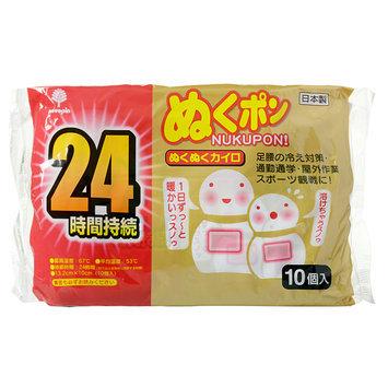Kokubo - Snowman 24 HR Super Warmer 10 pcs