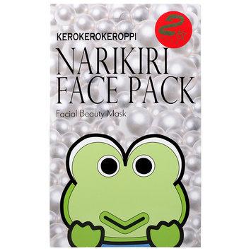 Sanrio - Narikiri Face Pack Facial Beauty Mask (Kerokerokeroppi) (Pearl Essence) 2 pcs