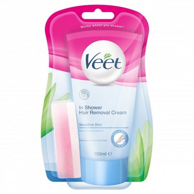 Veet - Cream Products Veet In-Shower Hair Removal Cream Sensitive 150ml