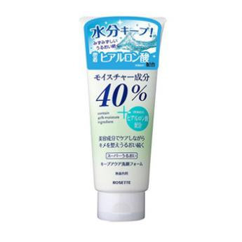 Rosette - 40% Super keep Aqua Face Wash Form 168g