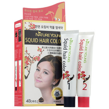 Nature Young - Squid Hair Color #4B Brown 1 set