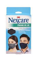 3M - Nexcare Comfort Mask (Black/L) 1 pc