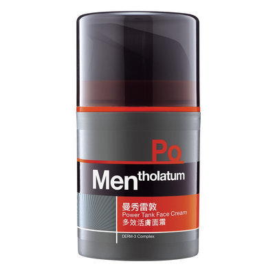 Mentholatum - Men (PO) Power Tank Face Cream 50ml