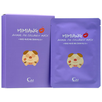 Mimiang - Animal Pig Collagen Mask 10 sheets