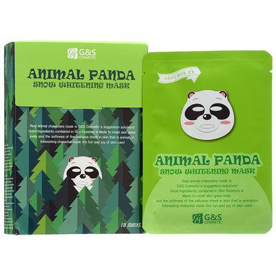 G & S Cosmetic - Animal Panda Snow Whitening Mask 10 sheets
