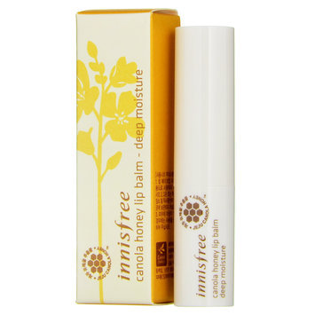 Innisfree - Canola Honey Lip Balm (Deep Moisture) 3.5g