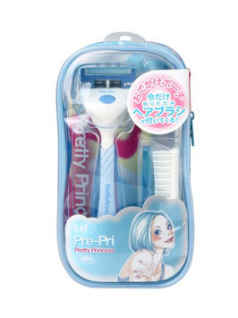 KAI - Pre-Pri Pretty Princess Razor + Comb Set (Random Color) 1 set
