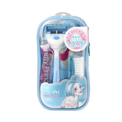 KAI - Pre-Pri Pretty Princess Razor + Comb Set (Random Color) 1 set