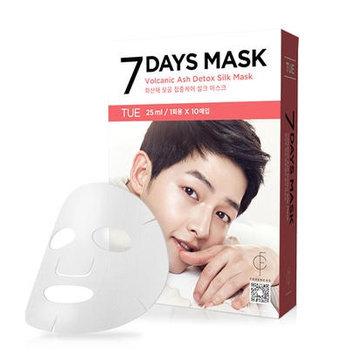 forencos - 7 Days Mask Volcanic Ash Detox Silk Mask (Tuesday) 10 pcs