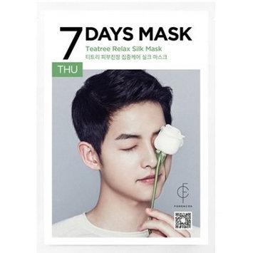 forencos - 7 Days Mask Teatree Relax Silk Mask (Thursday) 10 pcs