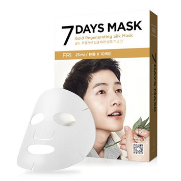 forencos - 7 Days Mask Gold Regenerating Silk Mask (Friday) 10 pcs