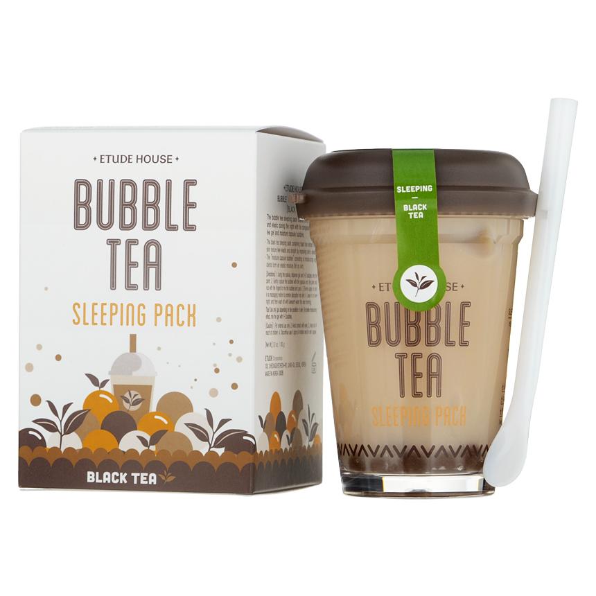 Etude House - Bubble Tea Sleeping Pack (Black Tea) 100g/3.5oz
