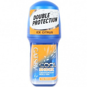 Mandom - Gatsby Cool Shock Deodorant Roll-On (Ice Citrus) 50ml