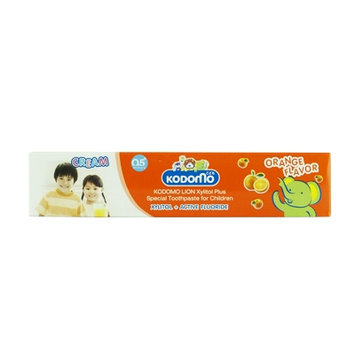 LION - Kodomo Xylitol Plus Special Toothpaste for Children (Orange) 40g