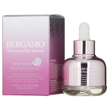 Bergamo - Pure Snail Whitening Ampoule (For All Skin Types) 30ml/1oz