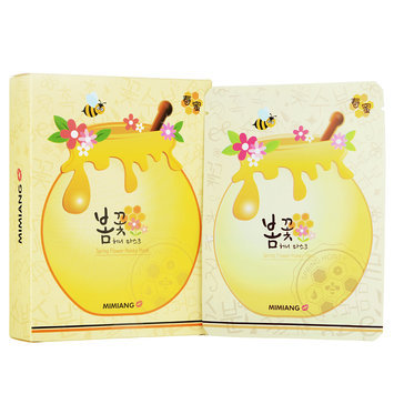 Mimiang - Spring Flower Honey Mask 10 sheets