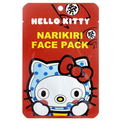 Sanrio - Narikiri Face Pack Facial Beauty Mask (Hello Kitty) (Blue Dot) 1 pc