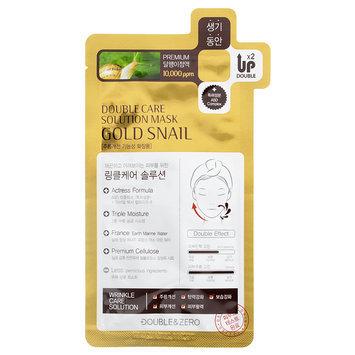 Double & Zero - Double Care Solution mask (Gold Snail) 30g/1.06oz