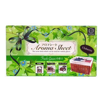 Kokubo - Aroma Sheet (Fresh Green) 15 pcs