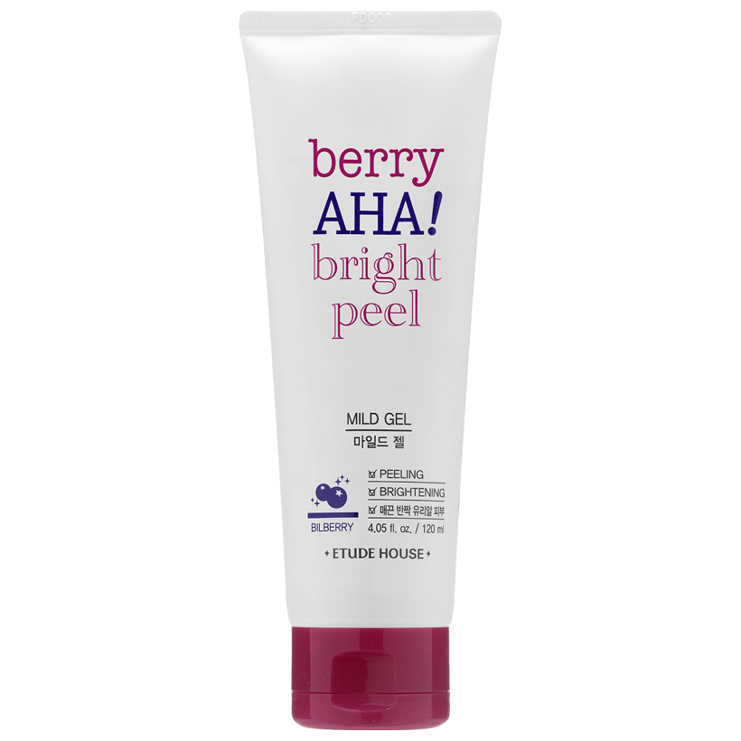 Etude House - Berry AHA Bright Peel Mild Gel 4.05oz/120ml