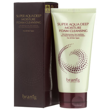 Branig Super Aqua Deep Moisture Foam Cleansing 150ml/5oz