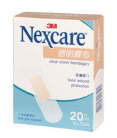 3M - Nexcare Clear Sheer Bandages 20 pcs