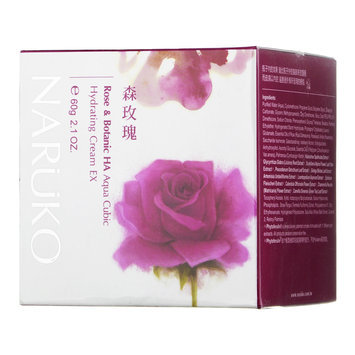 NARUKO - Rose & Botanic HA Aqua Cubic Hydrating Cream EX 60g/2.1oz