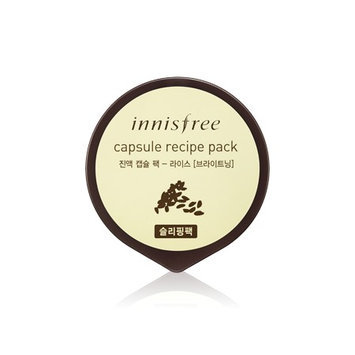 Innisfree - Capsule Recipe Pack (Sleeping Pack ) (Rice) 10ml