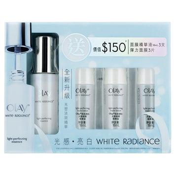 Olay White Radiance Light Perfecting Set Essence, Mask Lotion & Mask