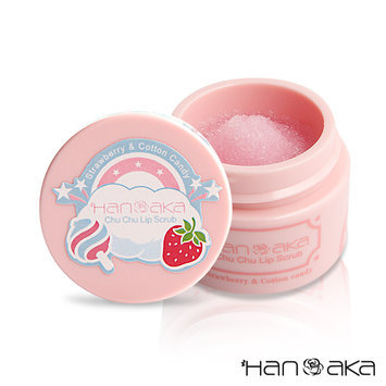 HANAKA - Strawberry and Cotton Candy Chu Chu Lip Scrub 15ml