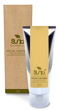 Sunki - Organic Facial Cleanser with Organic Chamomile 110g